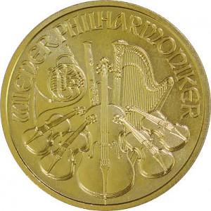Philharmonique de Vienne 1/2oz d'or fin - 2020