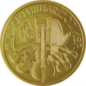 Philharmonique de Vienne 1/4oz d'or fin - 2020