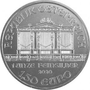 Philharmonique de Vienne 1oz d'Argent - 2020