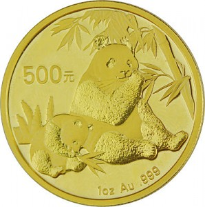 Chine Panda 1oz d'or fin - 2007