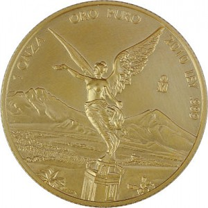 Libertad mexicain 1oz d'or fin - 2010