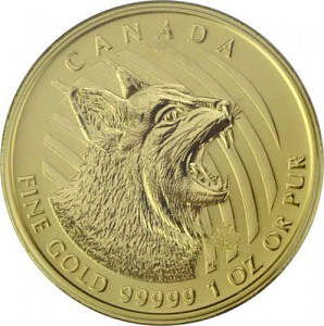 Call of the wild - Lynx 1oz d'or fin - 2020