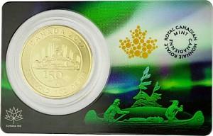 Canada 150 Ans Voyageur 1oz d'Or fin - 2017