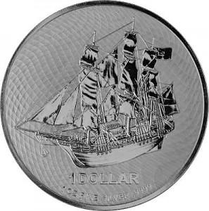 Îles Cook 1oz d'argent fin - 2020