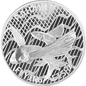 Tokelau Flying Fish - Hahave Fly Fish 1 oz d'argent - 2020