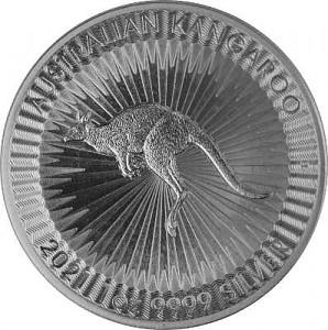 Kangourou Australien 1oz d'Argent - 2021