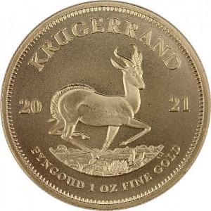 Krugerrand 1oz d'or fin - 2021