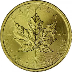 Maple Leaf 1oz d'or fin - 2021