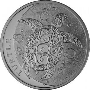 Niue Tortue - 1oz d'argent fin - 2021