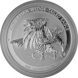 Aigle Australien (Australian Wedge Tailed Eagle) 1oz d'argent fin - 2021