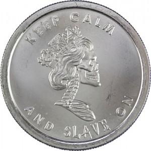 Slave Queen 1oz d'argent fin