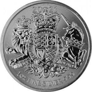 Grande-Bretagne Royal Arms 1oz d'argent fin - 2021