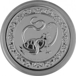 Niue Celestial Animals The Black Turtle - 1oz d'argent fin - 2021