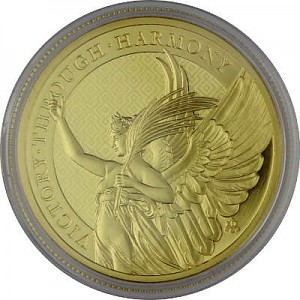 St. Helena The Queen's Virtues Victory 1oz d'or fin - 2021