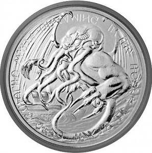Tokelau The Great Old One - Cthulhu 1 oz d'argent fin - 2021