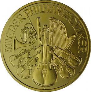 Philharmonique de Vienne 1/4oz d'or fin - 2021