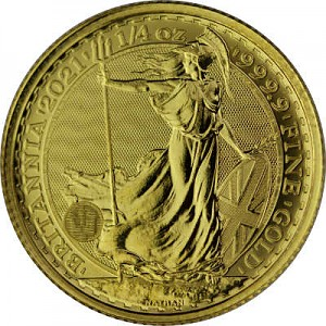Britannia 1/4oz d'or fin - 2021