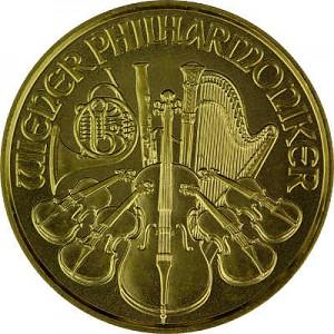 Philharmonique de Vienne 1/10oz d'or fin - 2021