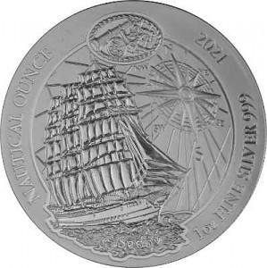Série nautique du Rwanda - Sedow 1oz d'argent - 2021 (TVA normale)