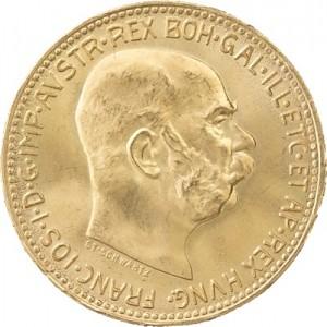 20 Couronnes autrichiennes 6,09g d'or fin