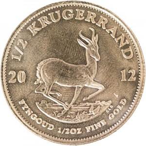 Krugerrand 1/2oz d'or fin