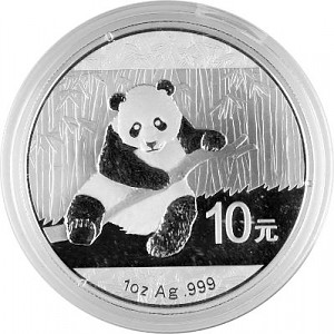 Panda Chinois 1oz d'Argent - 2014