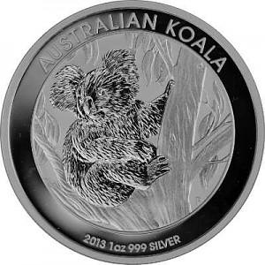 Koala 1oz d'Argent - 2013