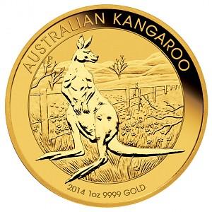 Australian Kangourou 1oz d'or fin - 2014