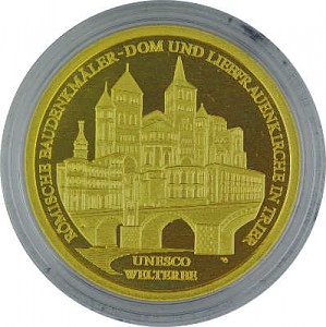 100 Euro allemand 1/2oz d'or fin - 2009 Trier