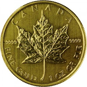 Maple Leaf 1oz d'or fin