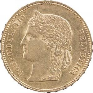 20 Francs suisse Helvetia 5,81g d'or fin