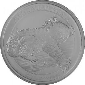 Koala 1kg d'argent fin - 2012