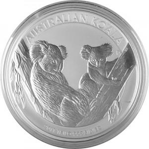 Koala 1kg d'argent fin - 2011