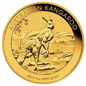 Australian Kangourou 1oz d'or fin - 2013