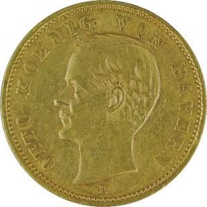 10 Mark Empire allemand diversifié 7,16g d'or fin - Deuxième Choix