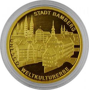 100 Euro allemand 1/2oz d'or fin - 2004 Bamberg