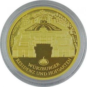 100 Euro allemand 1/2oz d'or fin - 2010 Würzburg