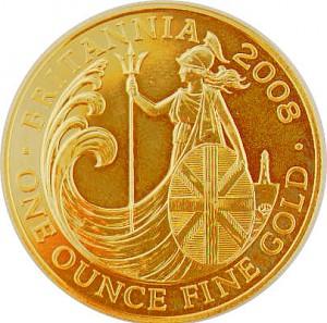 Britannia 1oz d'or fin