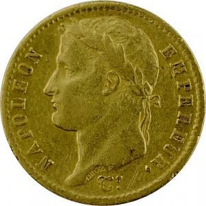 20 Francs français Napoléon I avec Coronnaire 5,81g d'or fin