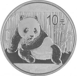 Panda Chinois 1oz d'Argent - 2015