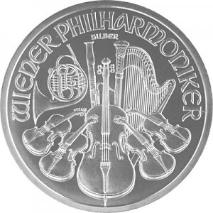 Philharmonique de Vienne 1oz d'Argent
