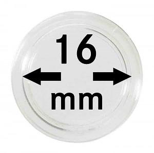 Capsules pour monnaies 16mm, 1 pièce