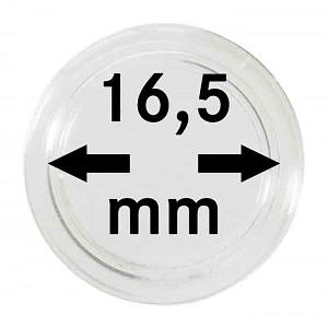 Capsules pour monnaies 16,5mm, 1 pièce
