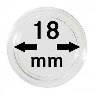 Capsules pour monnaies 18mm, 1 pièce