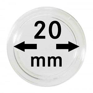 Capsules pour monnaies 20mm, 1 pièce