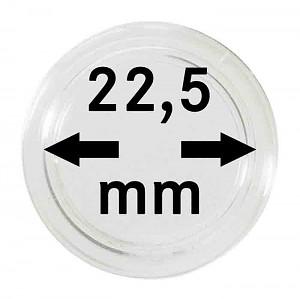 Capsules pour monnaies 22,5mm, 1 pièce