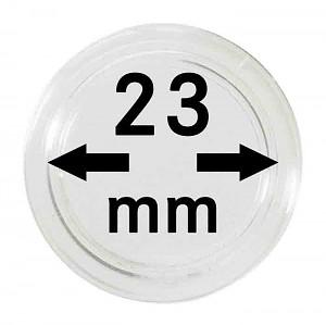 Capsules pour monnaies 23mm, 1 pièce