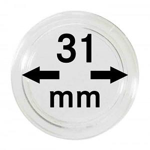 Capsules pour monnaies 31mm, 1 pièce