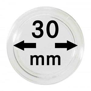 Capsules pour monnaies 30mm, 1 pièce
