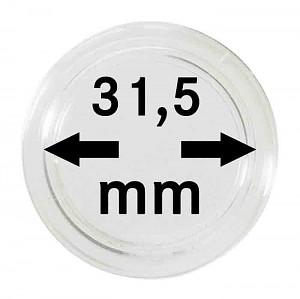 Capsules pour monnaies 31,5mm, 1 pièce